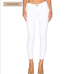 NEW • Rag & Bone • Capri Skinny Jeans Bright White